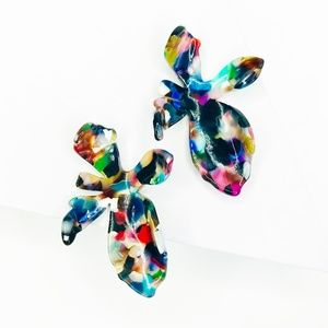 Lily Stud Earring in Multicolor